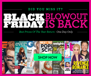 black friday blowout discountmags