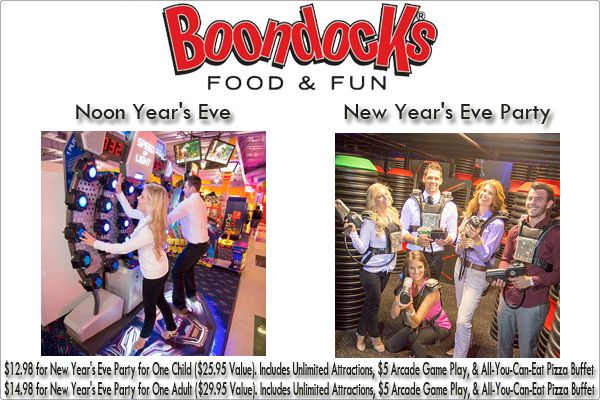 boondocks new years eve party