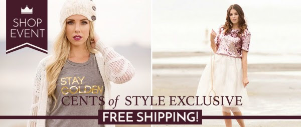 cents of style free shipping
