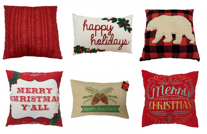 christmas pillows kohls