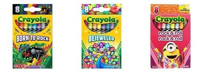 crayola 8 packs