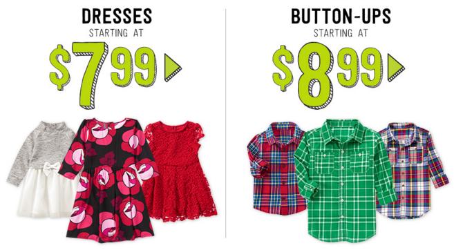 crazy 8 dresses and button ups