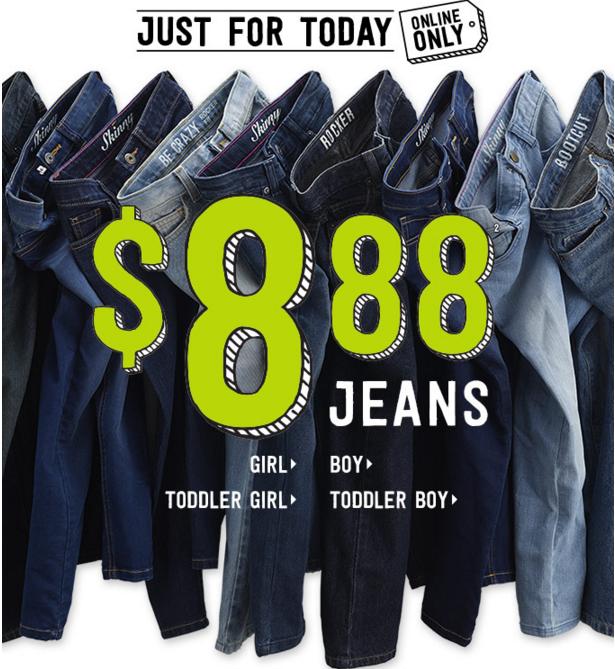 crazy 8 jeans 8.88