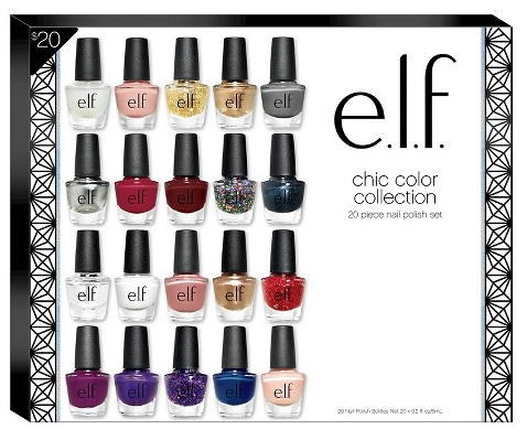 e.l.f. Chic Nail Color Collection, 20 Pieces