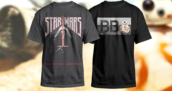 exclusive star wars shirts