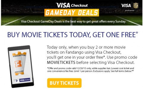 fandango movie tickets bogo free