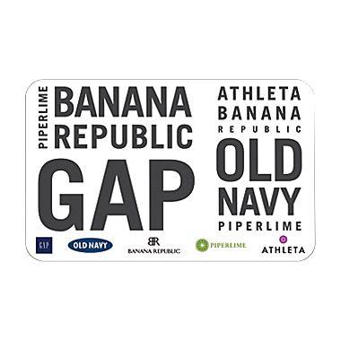 Discounted Gift Cards! Old Navy, Gap, Baby Gap, Banana Republic ...