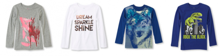 graphic tees the childrens place