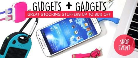 groopdealz gidgets and gadgets stocking stuffer event