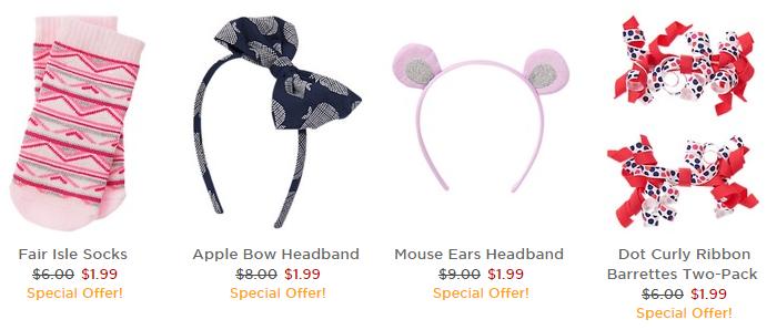 gymboree accessories