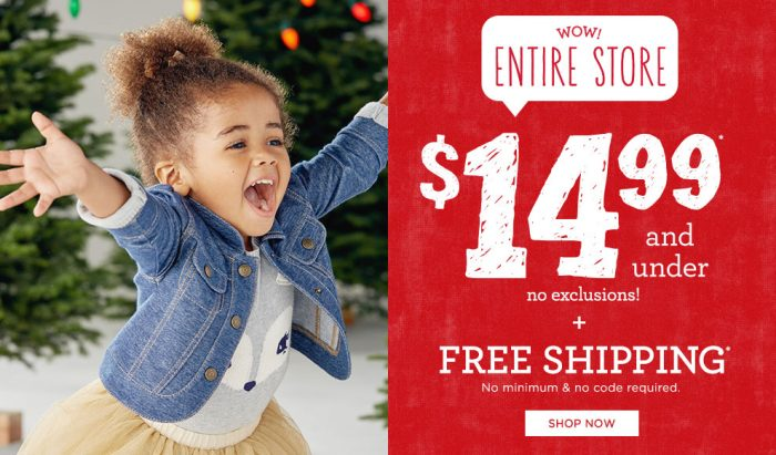 gymboree green monday 14.99 and under