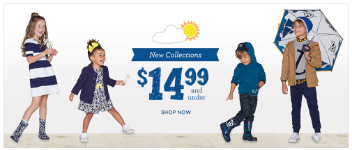 gymboree spring collections