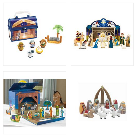 kid friendly nativity sets