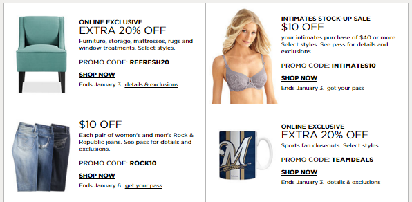 New Kohl's After Christmas Sale! Lots Of Stacking Codes Including ...