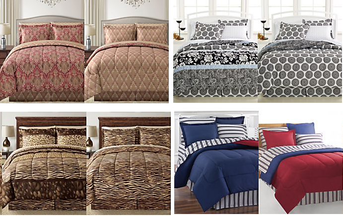 macys 8 piece reversible bed sets