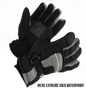 mens snow gloves
