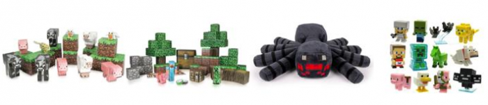 Walmart Minecraft Toys For Boys : Discounted minecraft toys shipped free by christmas