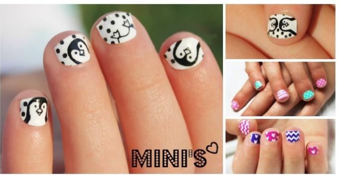 mini nail wraps