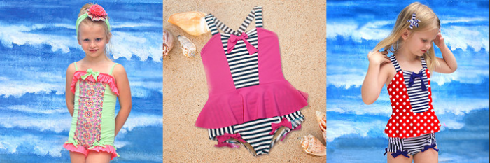 muddy feet boutique girls swimming suits