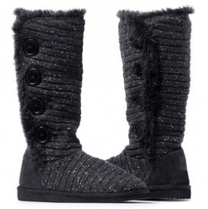 muk lux womens malena button boots
