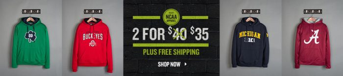 ncaa hoodies finish line