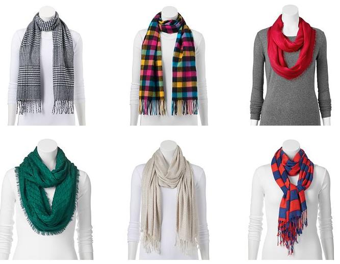 scarves kohls