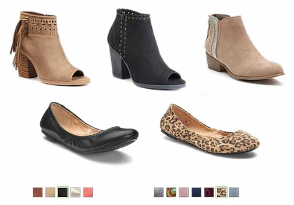 Fall Boots and Flats $20.99 + $10 off $50 + Free Shipping ...
