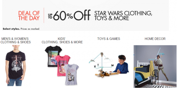 star wars deal of the day