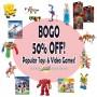 target bogo half off toys
