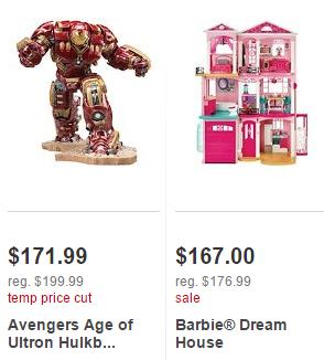 target bogo toy deals