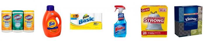target household essentials