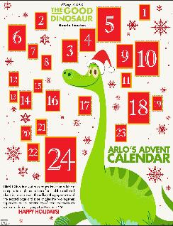 the good dinosaur advent calendar image