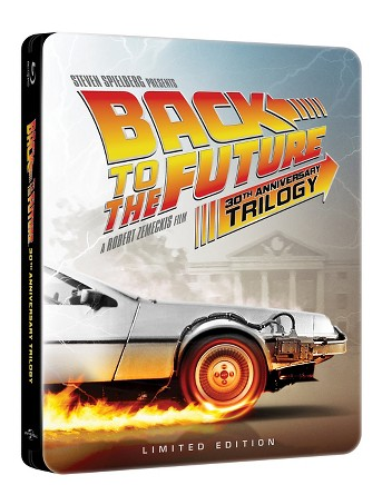 Back to the Future 30th Anniversary Trilogy Steelbook
