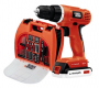 Black & Decker 20-Volt MAX Lithium-Ion Drill Kit with 100 Accessories