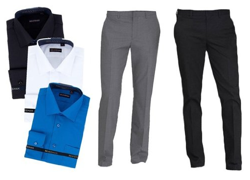 Business Casual Shirts & Pants