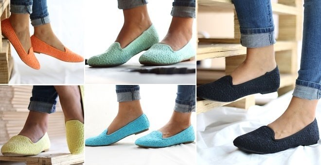 Colorful Loafer Flats