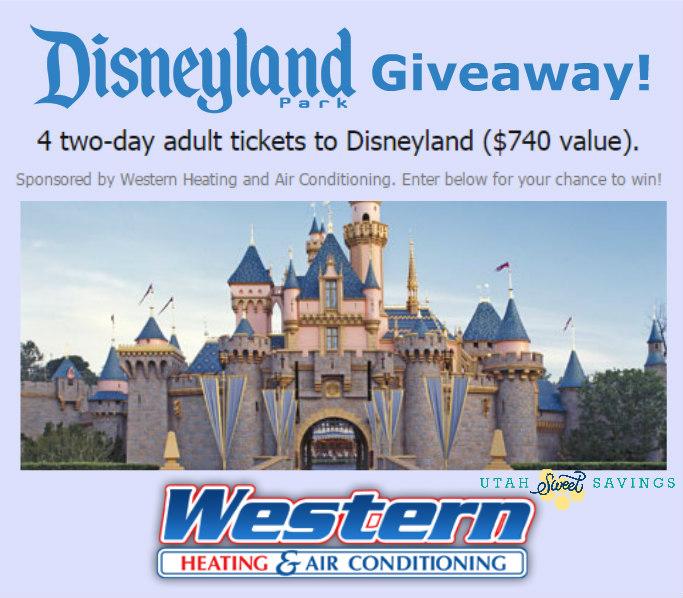 Disneyland Giveaway Image
