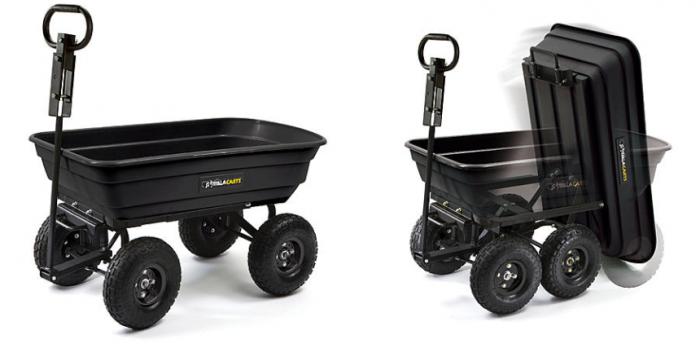 Gorilla Garden Dump Cart Starting At Utah Sweet