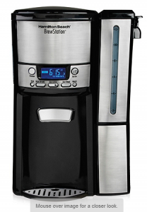 Hamilton Beach BrewStation 12-Cup Dispensing Coffeemaker with Removable Reservoir