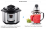 Instant Pot IP-LUX50 Stainless Steel 5-Quart 6-in-1 Multi-Functional Pressure Cooker with BONUS Ninja Master Prep