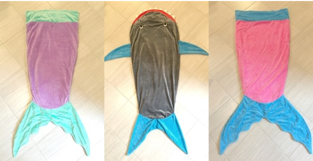 Kids Aquatic Sac Blankets