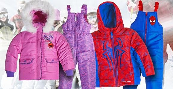 Kids Snowsuit Plus Coat