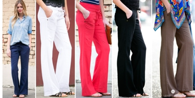 Lakeview Linen Pants