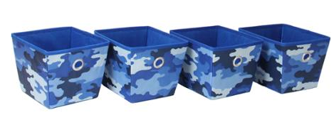 Mainstays Non-Woven Bins, 4-Pack