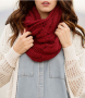 Mandy Cable Knit Infinity Scarf