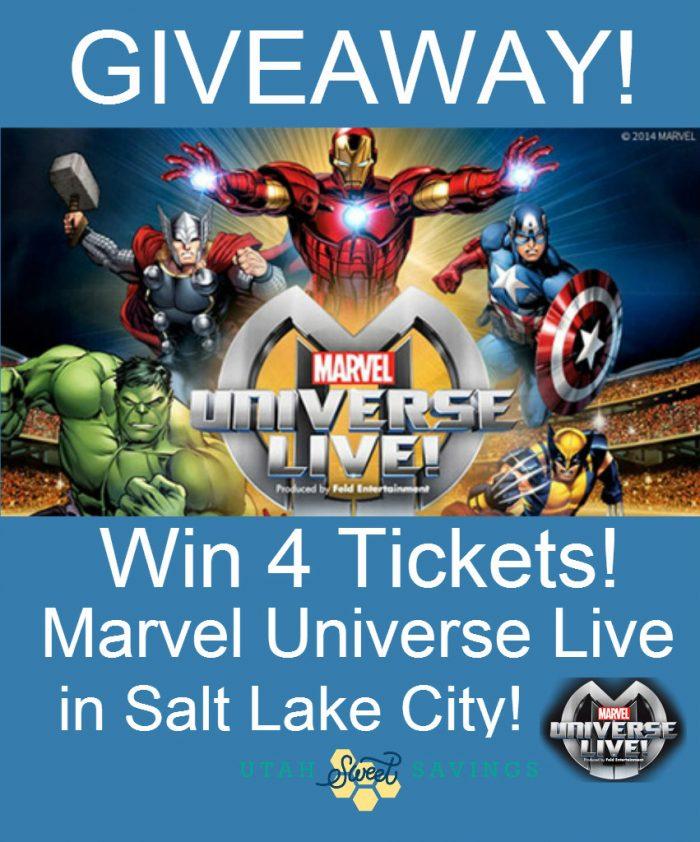 Marvel Universe Live Giveaway
