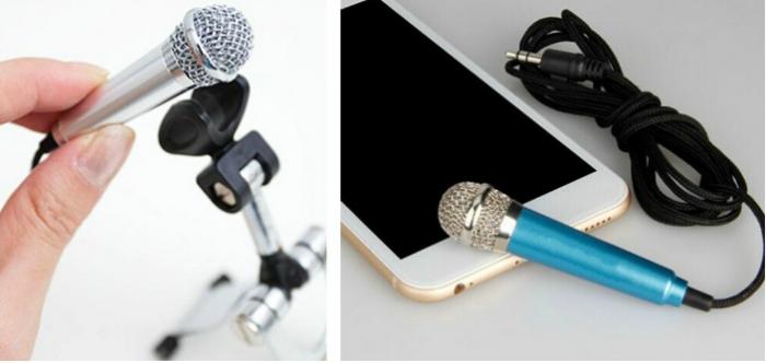 Mini Plug-In Microphone