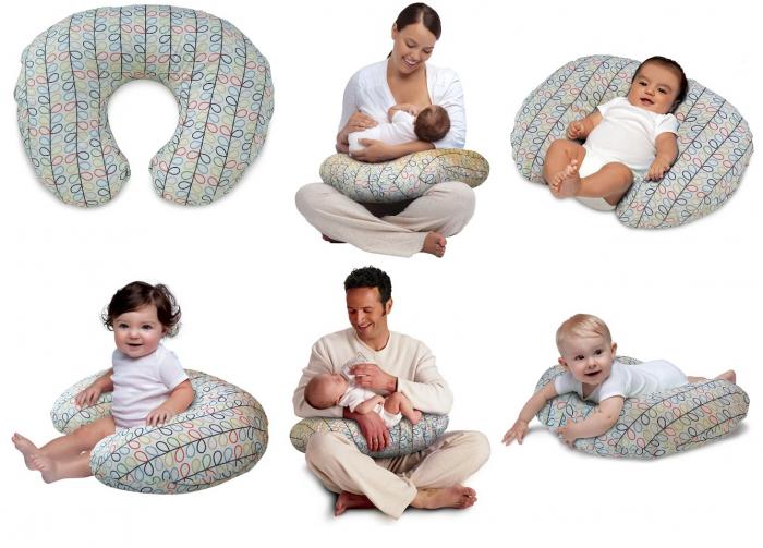 Orla Kiely by Boppy Slipcover Nursing Pillow collage