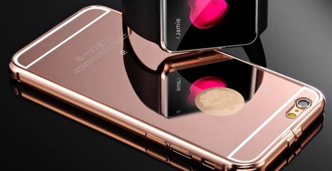 Slim Luxury Mirror iPhone and Andriod Case