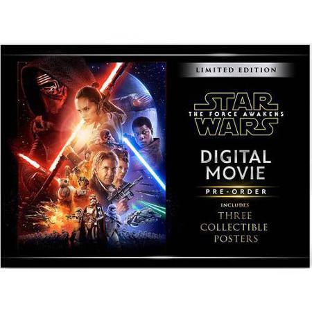 Star Wars The Force Awakens walmart